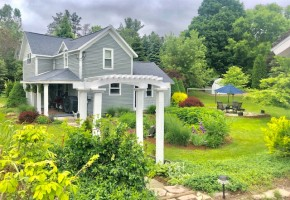 LEELANAU COUNTY REMODELED FARM HOUSE